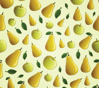 Wallpaper Apples and pears