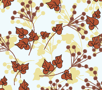 Wallpaper Autumn Floral