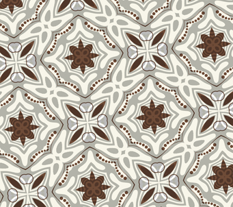 Wallpaper brown kaleidoscope