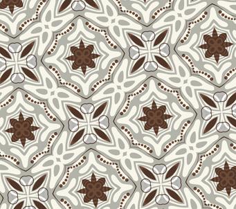 Wallpaper brown kaleidoscope