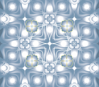 Wallpaper grey kaleidoscope