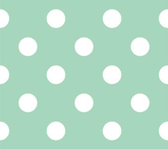 Wallpaper large white polka dots