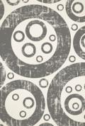 Wallpaper printed grey circles