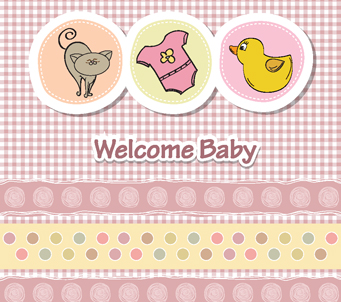 WelcomeBaby Pink